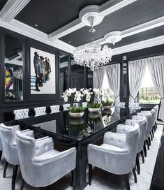 457 Best Black Dining Table Ideas Images In 2019