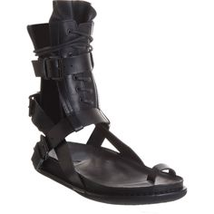 Ann Demeulemeester Mens Gladiator sandal