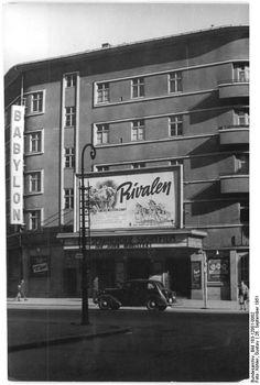 "September 1951 - Berlin, Luxemburgplatz, Kino ""Babylon"""