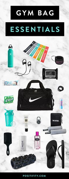 a01a79fb2dd0 24 Gym Bag Essentials Every Fit Girl Needs
