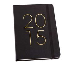 Not sure which one to choose! This one or the other???  2015 A5 WEEKLY LEATHER DIARY: BLACK