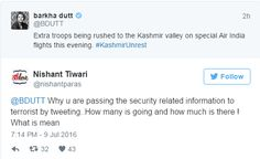 Barkha Dutt violates the guidelines issued after 26/11 on how to report in armed conflict  #dirtypolitics #politics