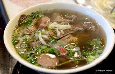 Delicious Pho on street in downtown Restaurant Pictures, Downtown Vancouver, Pho, Restaurants, Street, Ethnic Recipes, Diners, Roads, Food Stations