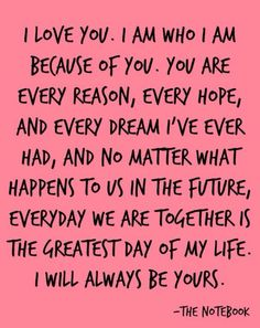 Wedding Quotes : QUOTATION – Image : As the quote says – Description 10 Totally Heartwarming Quotes to Incorporate In Your Wedding Vows. Best Love Quotes, Amazing Quotes, Cute Quotes, Quotes To Live By, Favorite Quotes, Movie Love Quotes, Romantic Movie Quotes, Romantic Poems, Film Quotes