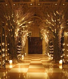 Enchanted Forest Weddings | really like this idea replacing trees