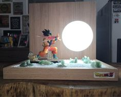 Nerd Room, Gamer Room, Video Game Rooms, Gaming Room Setup, Kawaii Room, Cool Lamps, Home Gadgets, Cardboard Crafts, Dragon Ball Z