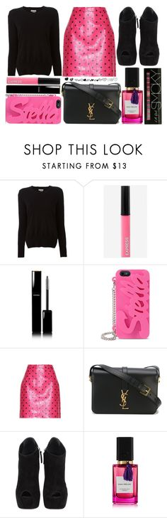 """street style"" by sisaez ❤ liked on Polyvore featuring Étoile Isabel Marant, Express, Chanel, STELLA McCARTNEY, Yves Saint Laurent, Giuseppe Zanotti and Diana Vreeland Parfums"