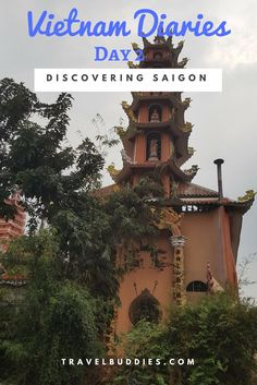 Day 2 of Vietnam Dairies and this time it was all about Discovering Saigon.