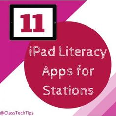 Many teachers ask me what to do with just a handful of iPads. Whether you are in a second grade classroom with two iPads, or a library with five devices you can create stations for students of all...