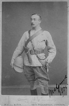 Lord Melgund 1885 Chief of Staff with Middleton