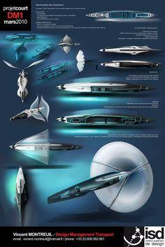 Submarine - Final 01 by Vincent-Montreuil on DeviantArt Spaceship Art, Spaceship Design, Spaceship Concept, Concept Ships, Concept Cars, Futuristic Technology, Futuristic Design, Sci Fi Ships, Aircraft Design