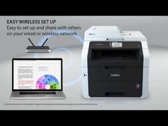 Amazing Brother Wireless All-In-One Color Printer with Scanner