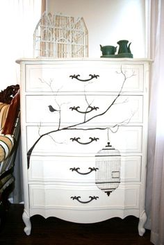 Naifandtastic:Decoración, craft, hecho a mano, restauracion muebles, casas pequeñas, boda: DIY: Si tienes una cómoda vieja en casa