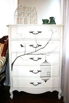 Art & Mañas » DIY: Si tienes una cómoda vieja en casa