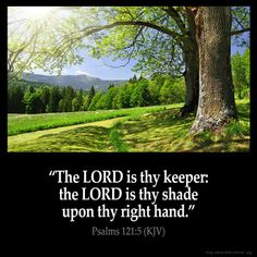 The Lord is my keeper