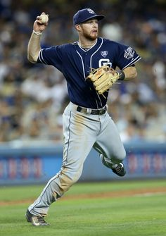 Cory Spangenberg Photos: San Diego Padres v Los Angeles Dodgers
