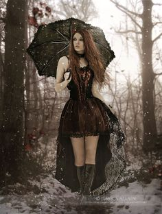 Winter-Walk by *EnchantedWhispers on deviantART