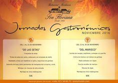 #Proturholidays www.proturhotels.com  #jornadasgastronomicas