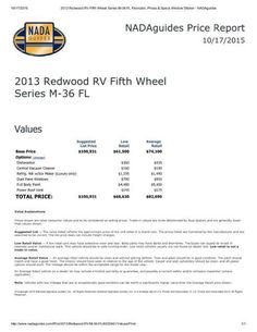 2013 Used Crossroads Redwood 36FL Fifth Wheel in California CA.Recreational Vehicle, rv, 2013 Crossroads Redwood 36FL, We bought this coach to live in while our home was being remodeled. Remodel is nearly complete, so we will soon no longer have a need for it. Other than delivery to our home, this coach has no miles on it. It is a very unique front living room design which we prefer to the traditional front bedroom. Five slide outs give this 5th wheel an open spacious floor plan. Redwood was…