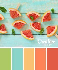 INSPIRATION: COLOR PALETTE - SET DESIGN 15 Downloadable Pastel Color Palettes For Summer