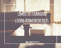 Get inspired with these simple but stunning living room decor ideas that are ideal for modern homes. Simple Living Blog, Simple Living Room Decor, Modern Homes, Decor Ideas, Inspiration, Home Decor, Biblical Inspiration, Modern Houses, Decoration Home
