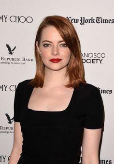 EMMA STONE at La La Land Screening in San Francisco  actress Emma stone
