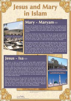 Jesus and Mary in Islam - These are being translated in to French and Spanish for world Distribution - Aimed and Muslim and non Muslims and Also for Rev. Jesus and Mary in Islam Prophets In Islam, Islam Hadith, Islam Muslim, Alhamdulillah, Islamic Inspirational Quotes, Islamic Quotes, Islam Religion, Christianity, Jesus In Islam