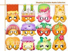 Unique Shopkins Printable Masks party Shopkins by AmazingPartyShop