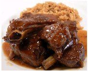 This Oxtail & Butter Beans Recipe is a classic Caribbean dish. It is comfort food at its best and it is a hearty meal made with affordable ingredients. The star ingredients are JCS Oxtail & Stew Seasoning and JCS Spicy Jerk Ketchup. Oxtail Recipes, Cuban Recipes, Cooker Recipes, Beef Recipes, Rock Recipes, Recipies, Oxtail Stew, Oxtail Meat, Guisado