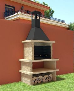 Barbecue Patio Ideas – With the weekend drawing to a close and summer just on the way, getting a barbecue station running might be an idea on the top of your mind. Barbecue Design, Barbecue Area, Grill Design, Bbq Grill, Outdoor Kitchen Bars, Outdoor Oven, Outdoor Patio Designs, Outdoor Decor, Patio Ideas