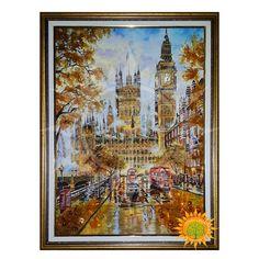 Лондон осенью из янтаря ⋆ Amber stone