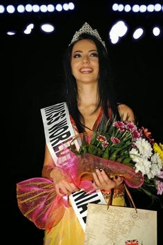 Bianca Adriana Fanu Crowned Miss World Romania 2014