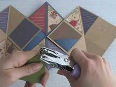 Tamijo Studios - Very cute folding book for cool take on photo album gift  Ku MINI Accordion Tutorial