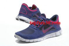 brand new fa925 6af9d  topfree30 com for nikes 50% OFF - Womens Nike Free Run 3 Blue Grey