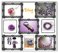 """""""Gallery -lilac and purple"""" by blingauto on Polyvore featuring BMW, etsy and gifts"""