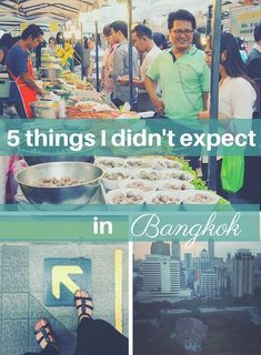 Some of the unexpected surprises of Bangkok, Thailand.