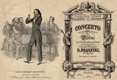 Nicolò Paganini: Violin Concerto No 1, Op 6 (1818)