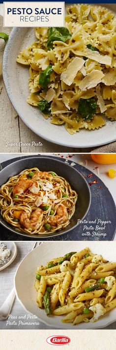 Add a fresh twist to your pasta dinner with our Traditional Basil Pesto. Save this listicle with our favorite pesto pasta recipes! Italian Recipes, New Recipes, Vegetarian Recipes, Healthy Recipes, Austrian Recipes, Recipies, Sauce Recipes, Pasta Recipes, Dinner Recipes