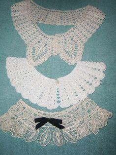 Three Vintage Collars by GrannysUniqueGoodies on Etsy