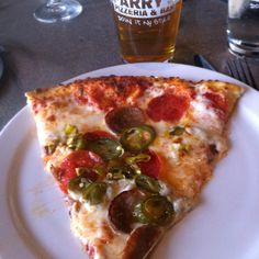Jalapeño Pepperoni Pizza at Parry's in Highlands Ranch CO