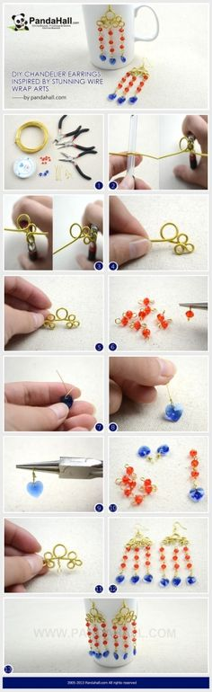 wire elements on a chain | Things I Like | Pinterest | Diy ...