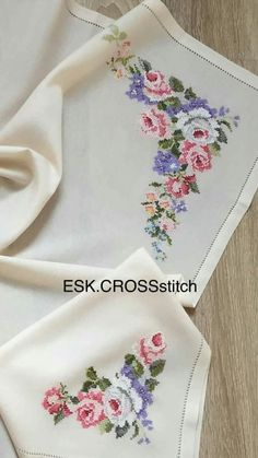 Name: Displayed times: 1195 Size: … – Flower İdeas Cross Stitch Borders, Cross Stitch Flowers, Cross Stitch Designs, Cross Stitching, Cross Stitch Patterns, Hand Embroidery Patterns, Ribbon Embroidery, Cross Stitch Embroidery, Pixel Crochet