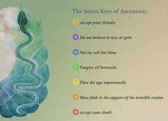 The Seven Keys of Ascension