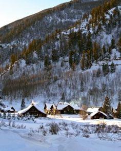 Dunton Hot Springs resort is set in the San Juan Mountains of the Colorado Rockies. #Jetsetter