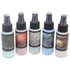 Lindy's Stamp Gang Moon Shadow Mist 5 Bottles/Pkg-Natural Bear Earth Tones  22.95