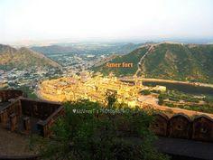 amer fort Jaipur in Jaipur, Rājasthān