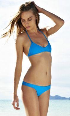Candy Color Solid Bikini Sets