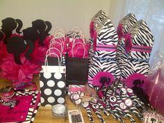 Pink & Zebra Barbie Party Birthday Party Ideas   Photo 3 of 10   Catch My Party