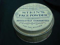 Vintage Stein's Theatrical Stage Face Powder Tin | eBay