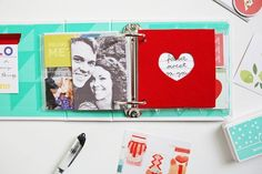 Scrapbook Sunday: February Messy Box